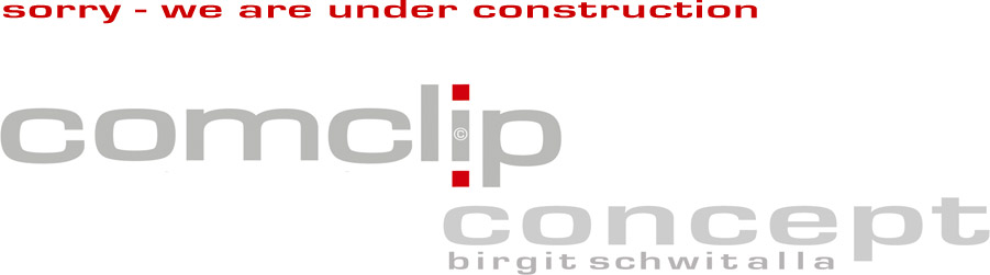 comclip concept - sorry we are under construction